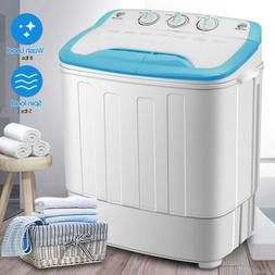 13LBS Top Load Washing Machine Portable Mini Twin Tub Compac