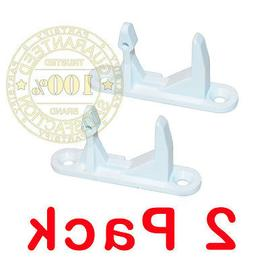 2 PACK 1344566  Washer Front Load Door Strike Lock catch fit