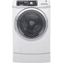 Ge - Rightheight 4.9 Cu. Ft. 13-cycle Front-loading Washer -