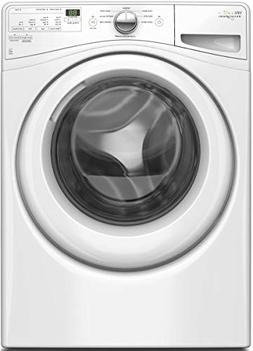 Whirlpool - 4.2 Cu. Ft. 8-cycle Front-loading Washer - White
