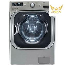 By LG High-Efficiency Front Load Washer with Steam and Turbo
