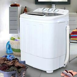 Compact Portable Washer & Dryer with Mini Washing Machine an