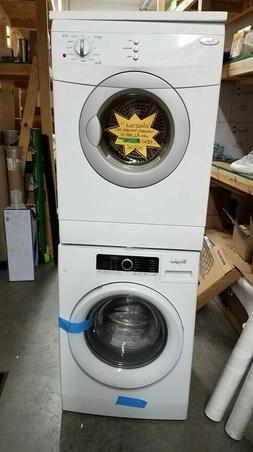 Compact Whirlpool Washing Machine & Dryer Front Load - White