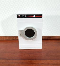 Dollhouse Washing Machine or Dryer in WHITE Modern Front Loa