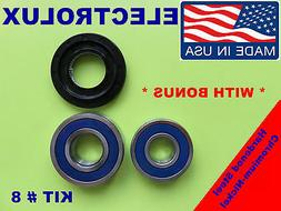 FRONT LOAD WASHER,2 TUB BEARINGS AND SEAL, ELECTROLUX,KIT #