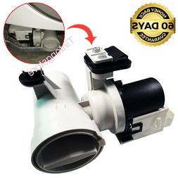 Front Load Washer Drain Pump Motor Whirlpool Duet Kenmore HE