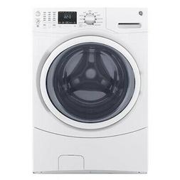 """GE GFW430SSMWW 27"""" White Front-Load Washer 4.5 cu.ft. New"""