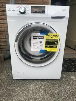 "Haier HLC1700AXW 24"" 2.0 cu. ft. Front Load Washer/Dryer Com"