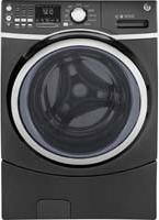Ge - 4.5 Cu. Ft. 10-cycle Front-loading Washer With Steam -