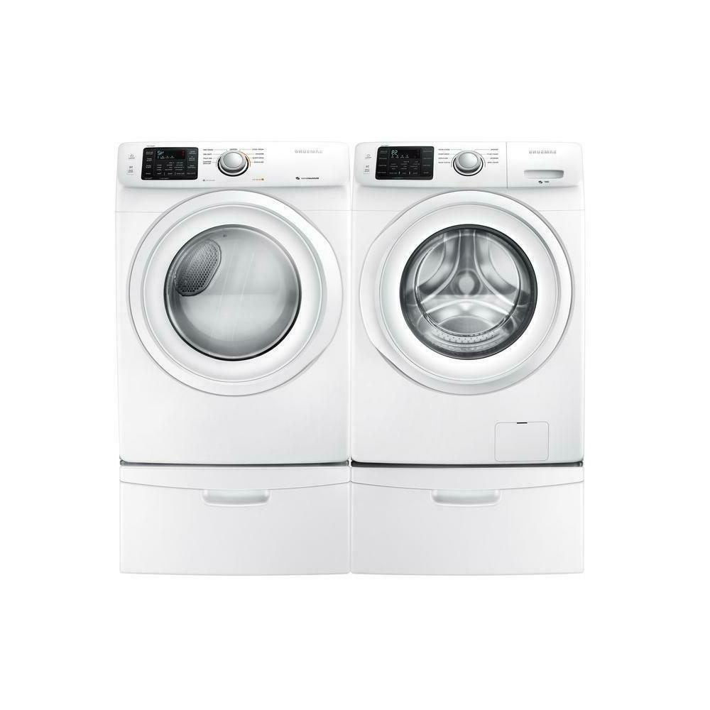 Samsung - 4.2 Cu. Ft. 8-cycle High-efficiency Front-loading