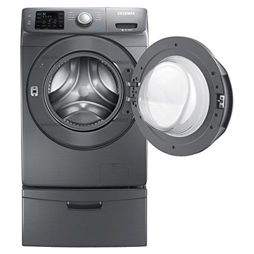 Samsung - Cu. Ft. High-efficiency Front-loading -