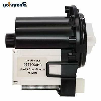 Front Washer Drain Pump For Samsung WF330ANB WF350ANW