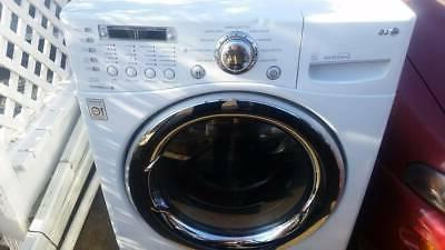 LG Electric Front Washer / Ventless combo 3.6 cu WM3987HW