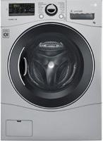 LG Silver All-In-One Washer And Dryer Combo