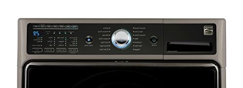 Kenmore 5.2 cu. Front Load Washer with Technology in Metallic Silver - includes and