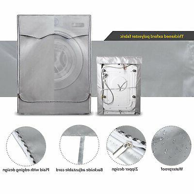 Silver Waterproof washer Front Washer/Dryer