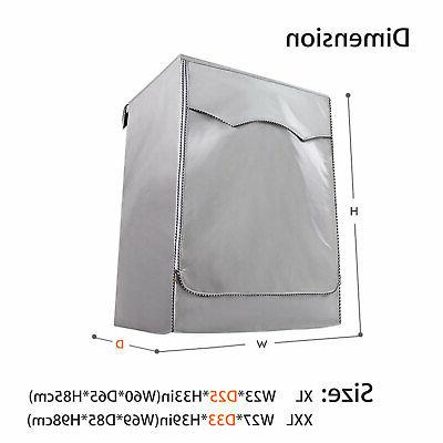 Silver Waterproof Cover Front Load