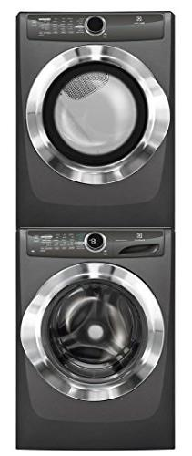 """Electrolux White Front Load Laundry Pair with EFLS517STT 27"""""""
