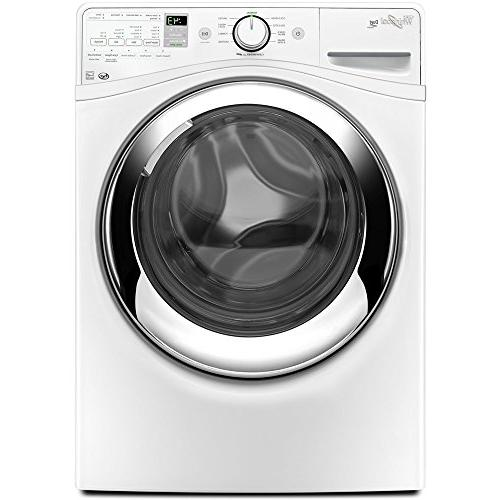 Whirlpool White Steam Front Load Washer