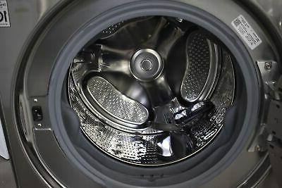 """LG 27"""" Steel Front-Load Washer"""