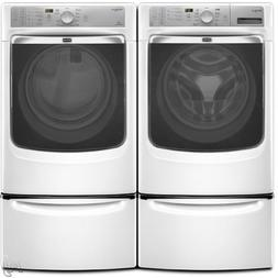Maytag Maxima XL™ Front Load Steam Washer and Steam Dryer