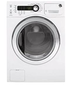 GE  WCVH4800KWW 24 Inch Front Load Washer in White NEW IN BO