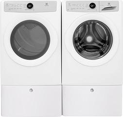 Electrolux White Front Load Laundry Pair with EFLW317TIW 27""