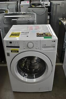 """LG WM3400CW 27"""" White Front-Load Washer 4.5 Cu. Ft NOB #1074"""