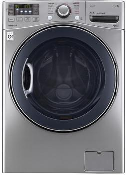 LG WM3770HVA 27 Inch Front Load Washer with Steam in Graphit